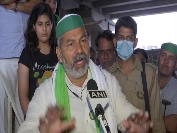 BKU leader Rakesh Tikait (Photo/ANI)