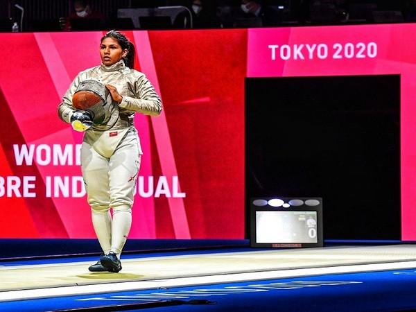 India fencer Bhavani Devi (Photo/ Bhavani Devi Twitter)