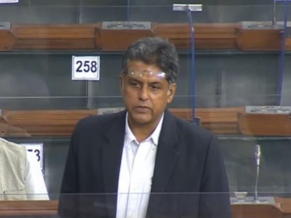Congress MP Manish Tewari. [File Photo/ANI]