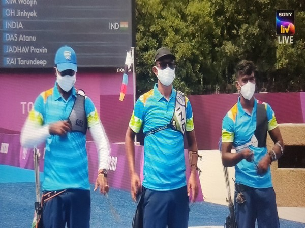 India men's archery team (Photo: Screen Grab via Sony Liv)