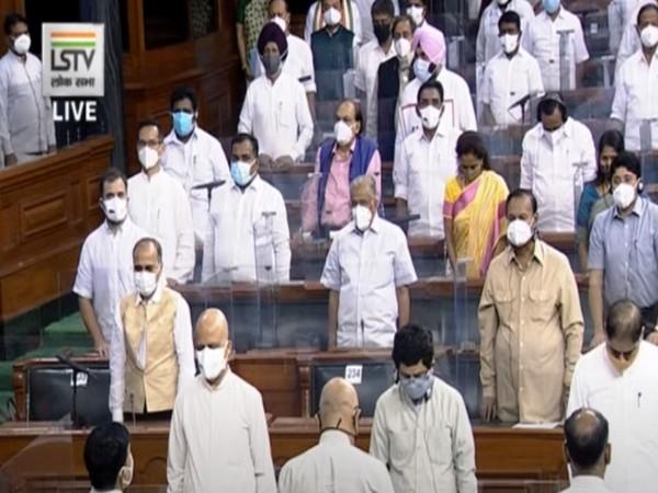 Visual from Lok Sabha (Source/ LSTV)