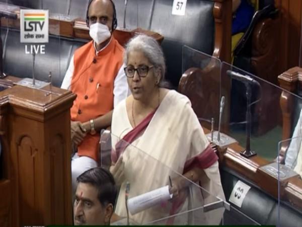 Union Finance Minister Nirmala Sitharaman (Photo/Twitter)