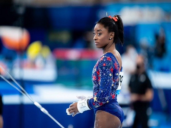 Simone Biles (Image: USA Gymnastics' Twitter)