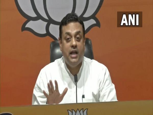 BJP spokesperson Sambit Patra addressing a press conference in Delhi on Wednesday. [Photo/ANI]