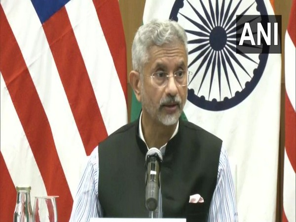 External Affairs Minister, S Jaishankar (ANI)