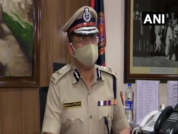 Delhi Police Commissioner Rakesh Asthana (File Photo/ANI)