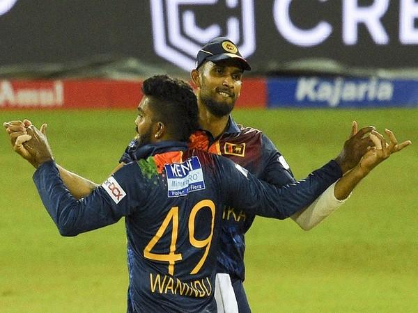 Sri Lanka need 82 runs to win T20I series (Image: ICC)
