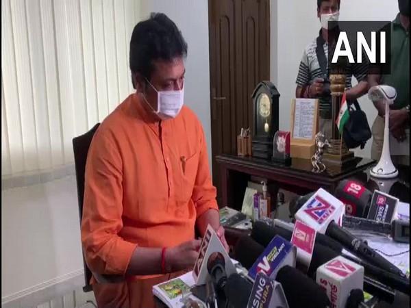 Tripura Chief Minister Biplab Deb (Photo/ANi)