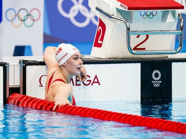 Penny Oleksiak (Photo: Twitter/Team Canada)