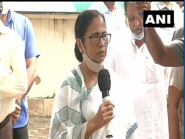 West Bengal Chief Minister Mamata Banerjee in Delhi (Photo/ANI)