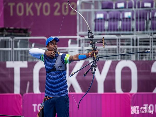 Archer Atanu Das (Photo/ Atanu Das Twitter)
