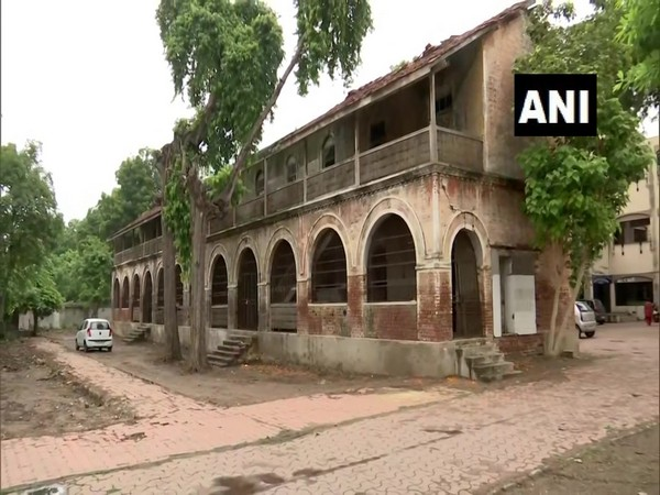 A visual of the 150-year-old heritage building in Ahmedabad (Photo/ANI)
