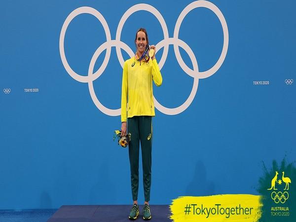 Emma McKeon (Photo: Twitter/AUS Olympic Team)