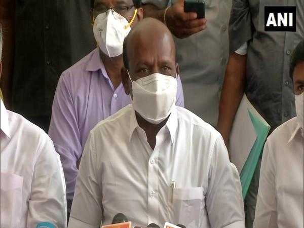 Tamil Nadu Health Minister Ma. Subramaniyan. (Photo/ANI)