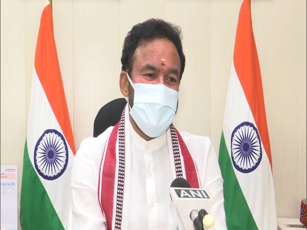 Union Minister for Development of North East Region, Tourism and Culture, G Kishan Reddy (Photo/ANI)