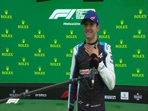 Esteban Ocon (Photo/ Formula 1 Twitter)