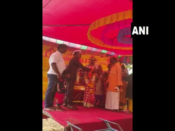A visual of the wedding ceremony (Photo/ANI)
