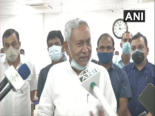 Bihar Chief Minister Nitish Kumar (Photo/ANI)