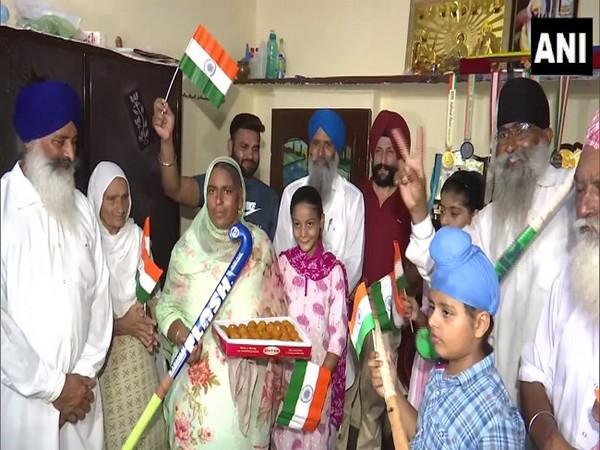 Gurjit Kaur's family
