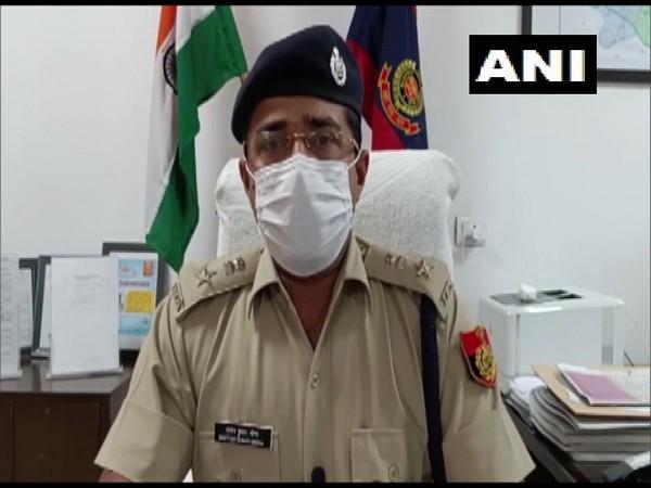 Santosh Kumar Meena, Deputy Commissioner of Police, Dwarka (Photo/ANI)
