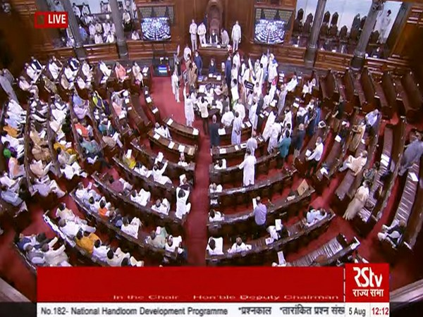 Monsoon Session: RS adjourned till 2 pm amid sloganeering by Opposition MPs