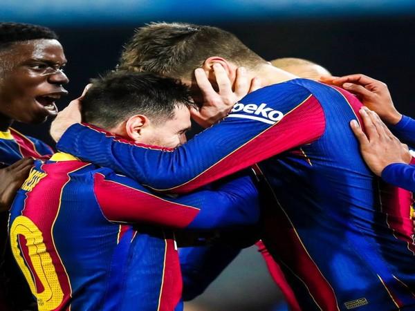 Gerard Pique and Lionel Messi (Photo: Twitter/Gerard Pique)