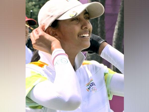 Golfer Aditi Ashok. (Photo/ Kiren Rijiju twitter)
