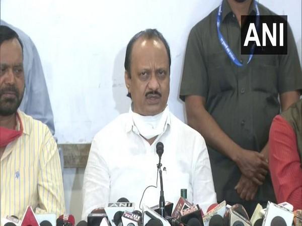 Maharashtra Deputy Chief Minister Ajit Pawar. [File Photo/ANI]