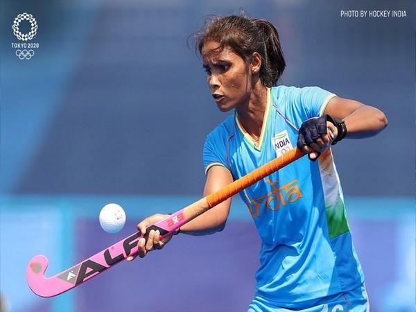 Indian women's hockey team player Vandana Kataria.