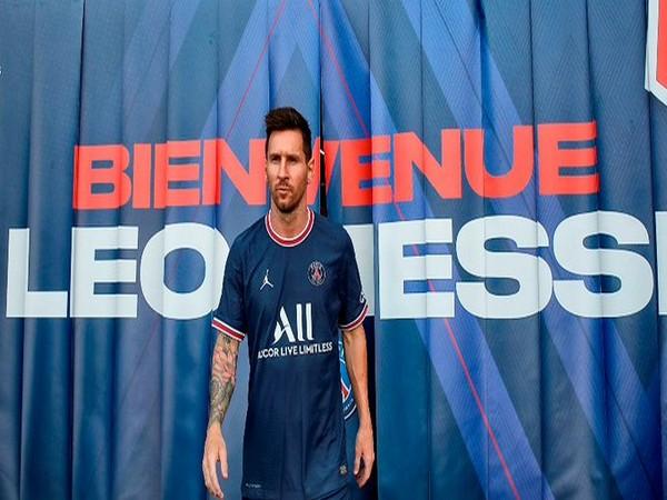 Lionel Messi (Photo: Twitter/PSG)