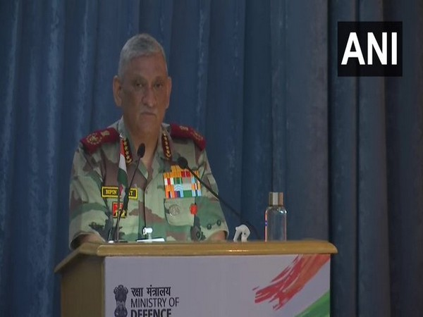 Chief of Defence Staff General Bipin Rawat addressing the event organised by Ministry of Defence