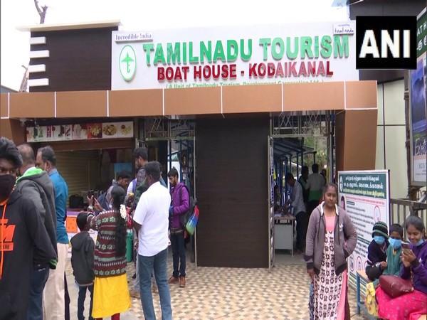 A boathouse club in Kodaikanal reopened for tourists. (Photo/ANI)
