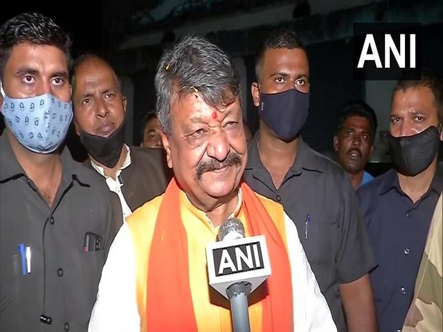 BJP General Secretary Kailash Vijayvargiya. (Photos/ANI)