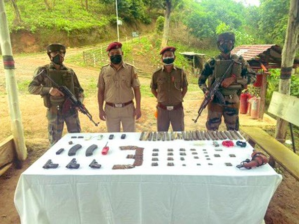 Seized arms, ammunition and war-like stores.
