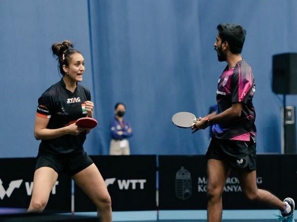 Sathiyan Gnanasekaran and Manika Batra (Photo: Twitter/SAI Media)