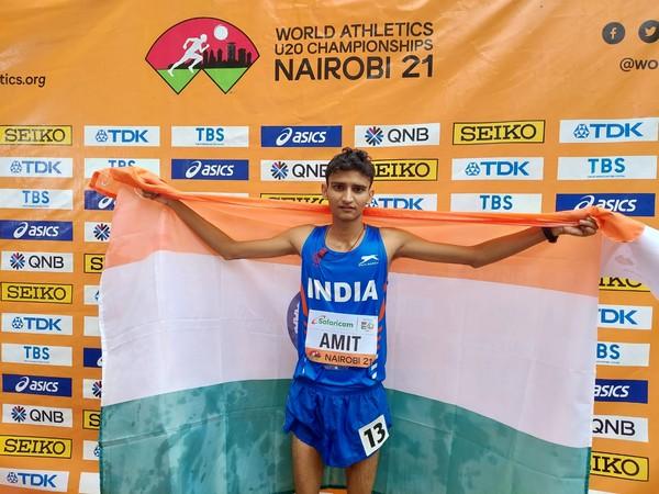 Amit Khatri (Photo: Twitter/Athletics Federation of India)