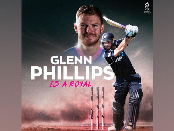 Glenn Phillips (Photo: Twitter/ Rajasthan Royals)