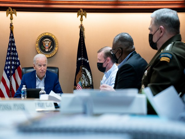 Biden meets security team to discuss security situation in Afghanistan [Twitter @WhiteHouse]