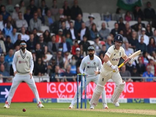 England opening batsman Rory Burns (Photo/ ICC Twitter)