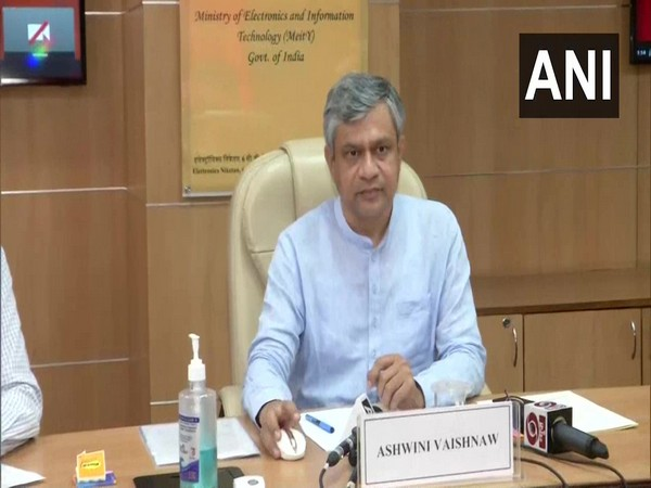 Union Minister of Railways, Communications, Electronics and IT Ashwini Vaishnaw (Photo/ANI)
