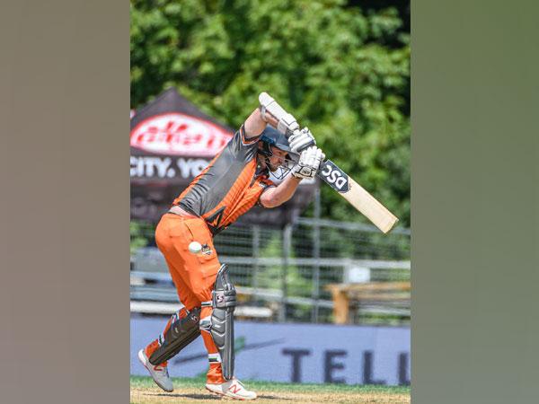 Brampton Wolves' batsman Colin Munro (Photo/ GT20 Canada Twitter)