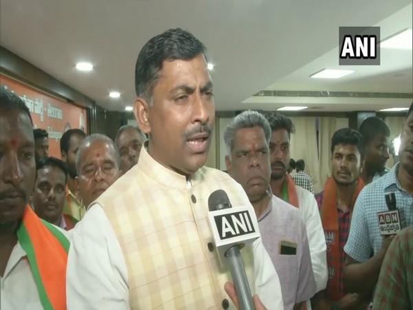 BJP National General Secretary P Muralidhar Rao talking to ANI on Monday. Photo/ANI