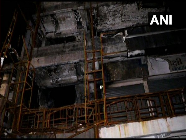 Visual from the Surat fire tragedy. File photo/ANI
