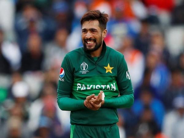 Pakistan left-arm fast bowler Mohammad Amir