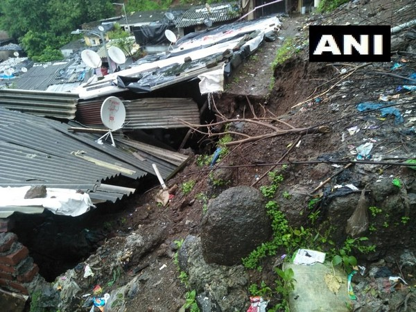 A landslide occurred in the Kalwa area of Thane district in the early hours of Tuesday.