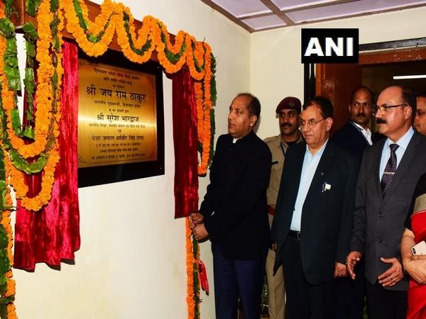 Himachal Pradesh Chief Minister Jai Ram Thakur inaugurates Computerized Online Examination Hall on Wednesday