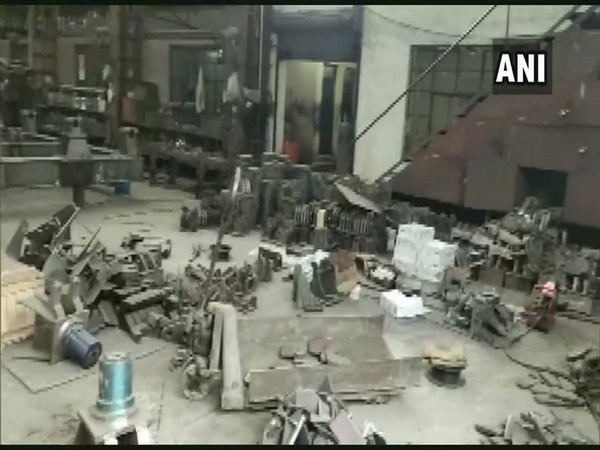 One person died and four were injured after a boiler at a factory in Kanpur exploded (Photo/ANI)