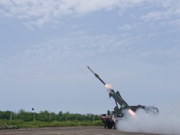 DRDO on Sunday successfully test-fired QRSAM.