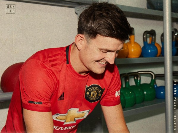 Defender Harry Maguire (Photo/ Manchester United Twitter)