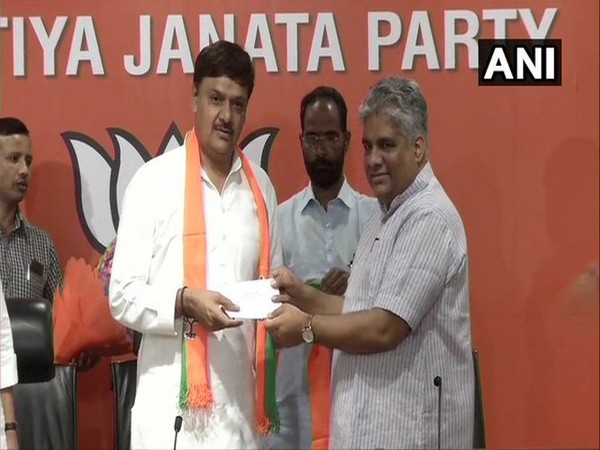 Former Rajya Sabha MP Surendra Nagar joins BJP in presence of senior party leader Bupendra Yadav